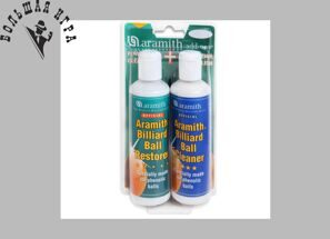 Набор Aramith Ball Restorer & Cleaner 2х250мл 2шт. блистер