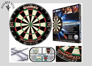 Дартс Winmau Dartboard Diamond Wired